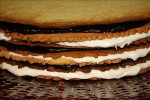 """Plum Butter Sable """"Cake"""""""
