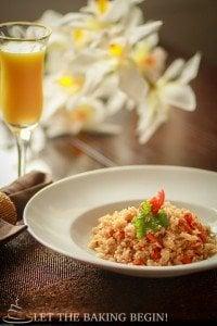Simple Fried Rice - LetTheBakingBeginBlog.com_| @Letthebakingbgn