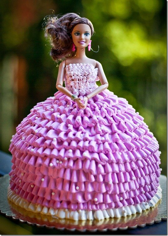 Make Doll Cake Decorating