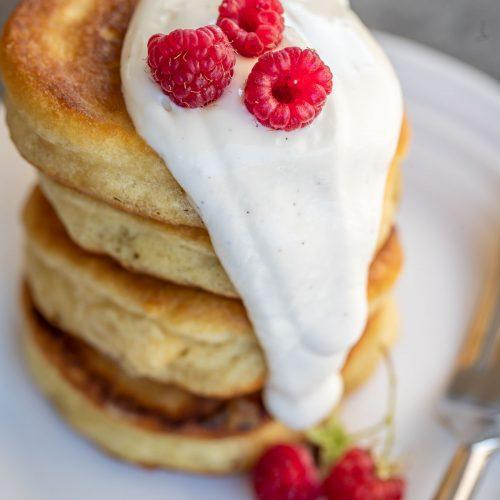 Russian Pancakes {Buttermilk Pancake Recipe} - Let the Baking Begin!