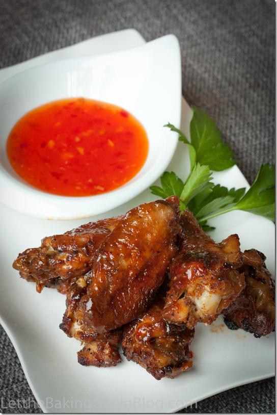 Easy Chicken Garlic Wings