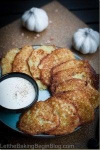 Potato Latkes / Potato Pancakes, fried potato panckes with just a few basic ingredients.