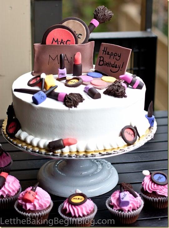 Simple Makeup Cake Design : Make-up Cake - Let the Baking Begin!