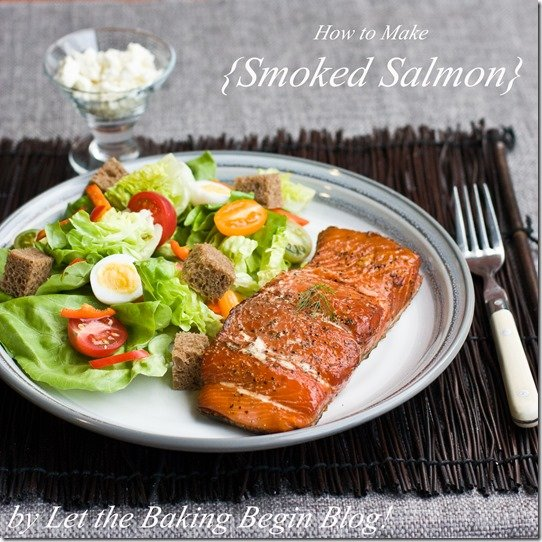 Smoked Salmon Learn how to smoke salmon from the comfort of your own home. It is best to buy salmon that has lots of fat throughout the fillet, since that will produce a more moist fish. See the step by step photo instructions to see that you can totally do this!