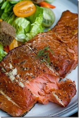 Learn how to smoke fish (salmon) from the comfort of your own home, with my step by step instructions. By LetTheBakingBeginBlog.com