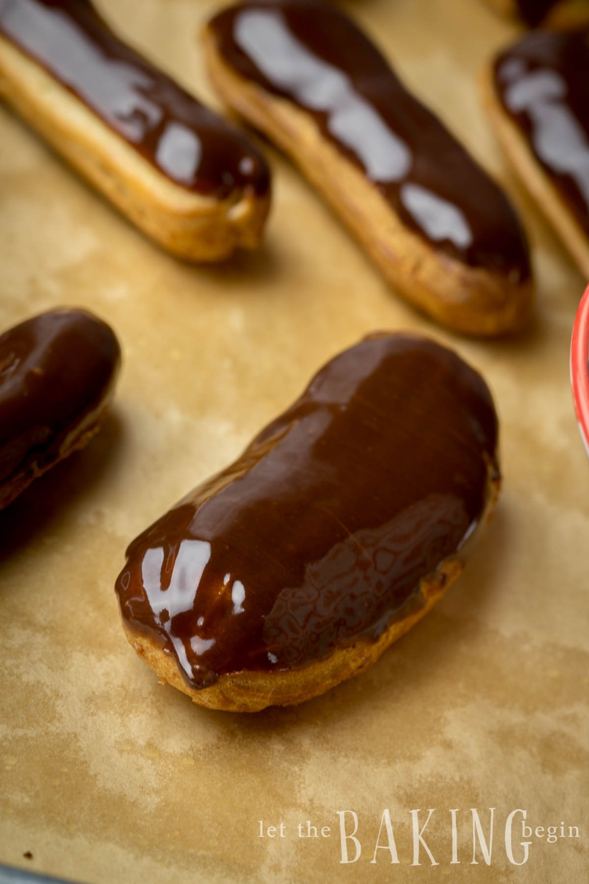 Simple, yet sophisticated and all around delicious eclair recipe.