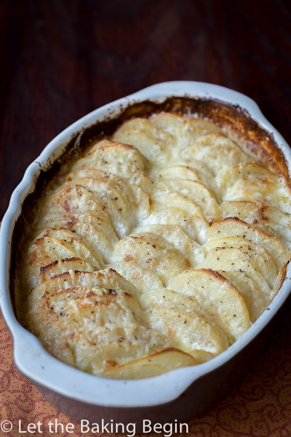 Cheesy Potato Gratin - Let the Baking Begin!