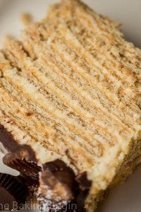 No Bake Honey Cake
