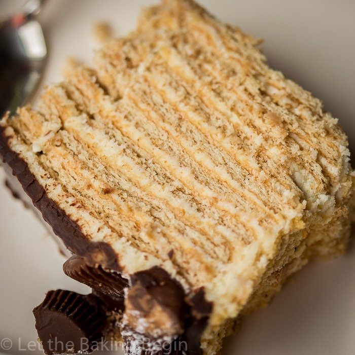 Coffee Layer Cake With Rum Cream
