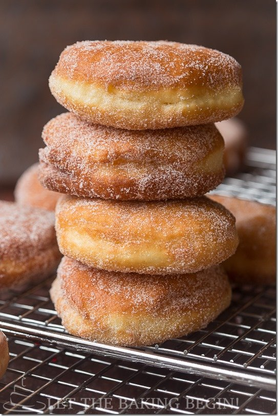 how to make doughnuts with sugar
