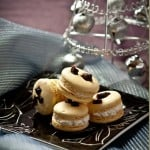 Light and airy in texture with creamy, slightly tangy center these Macarons are fit for a king! by LettheBakingBeginBlog.com