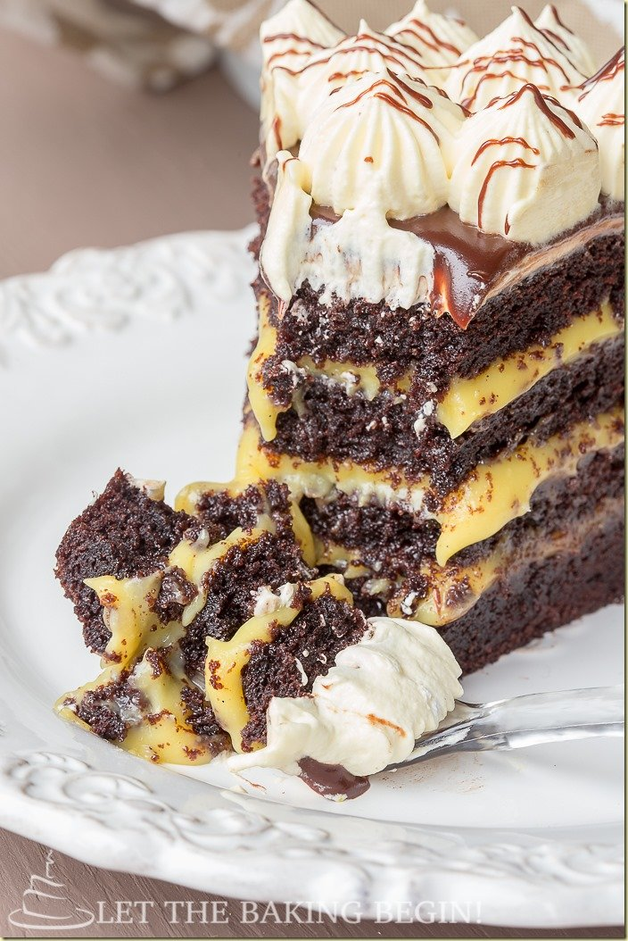 How To Make Custard Filling For Chocolate Cake