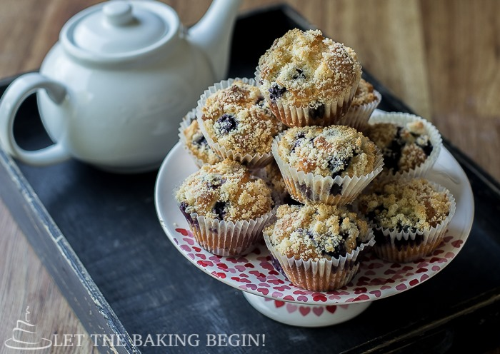 Olive Oil & Greek Yogurt Blueberry Muffin Recipe Let the Baking Begin!