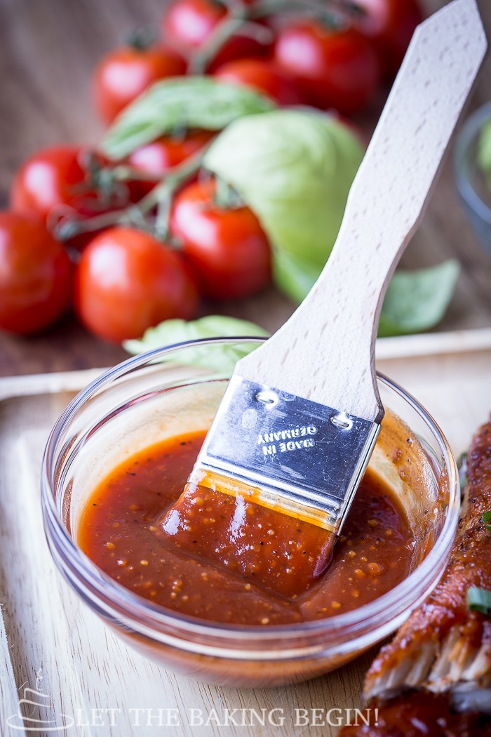Sweet, tangy, with a good kick of heat this BBQ Sauce is ready to marry any meat you got. Slather it thick and keep the jar close, because you will want more!