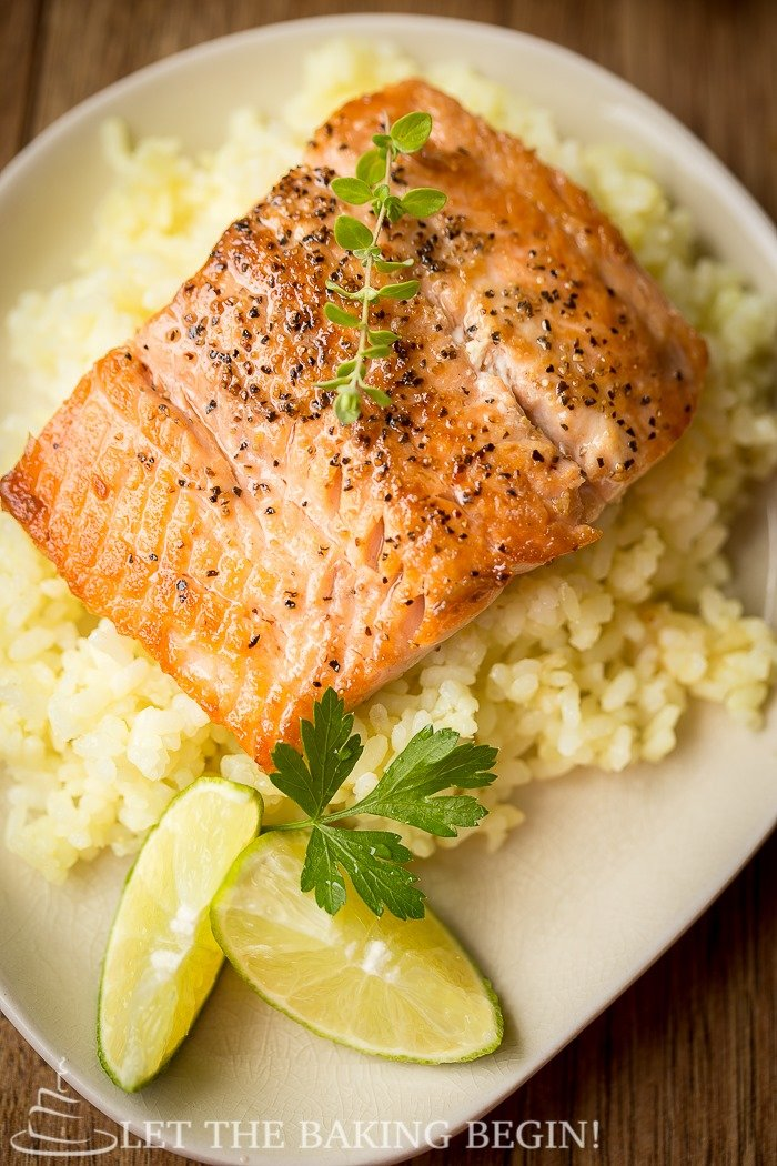 Eighteen-Minute Salmon With A Fresh Ginger Glaze Recipe — Dishmaps
