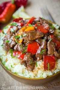 Spicy Beef and Bell Pepper