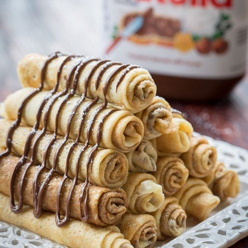 Nutella Crepe Recipe 3 Ways To Fold Crepes Let The Baking Begin
