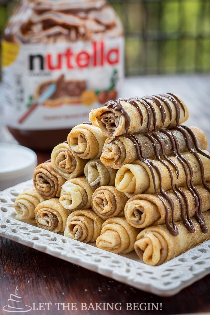Nutella Stuffed Crepes Amp 3 Ways To Fold Them Let The