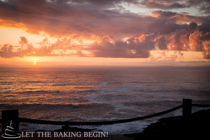Pacific City, Oregon. - it's hard not to appreciate the amazing sunsets at the beach.