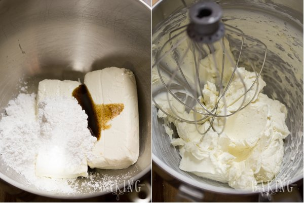 Milky Girl Cake - Quick and easy, with tender sweetened condensed milk cake layers frosted with Vanilla Cream Cheese Frosting | Let the Baking Begin!