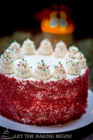 Red Velvet Cheesecake Cake - By Let the Baking Begin! @Letthebakingbgn