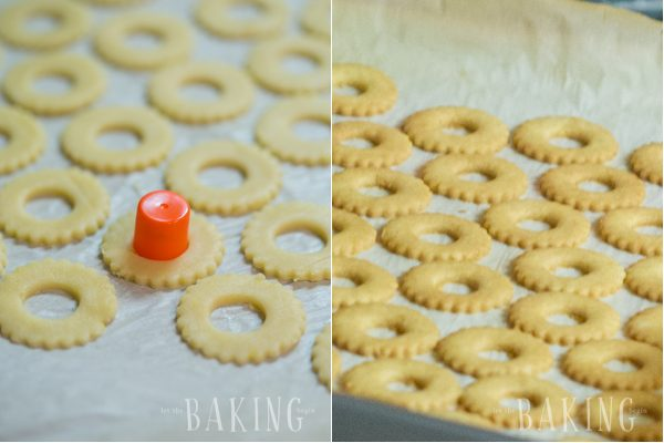 Plum Butter Cookies - Shortbread Cookie with Plum Butter and Buttercream filling is a classic Ukrainian pastry recipe that is very popular among the slavic community (Pesochnoe Pirozhenoe) | Let the Baking Begin!