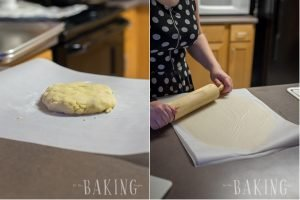 Shortbread Cookie with Plum Butter and Buttercream filling is a classic Ukrainian pastry recipe that is very popular among the slavic community (Pesochnoe Pirozhenoe) | Let the Baking Begin!