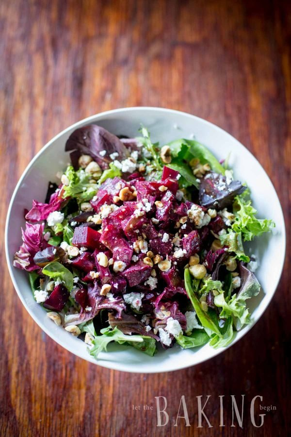Beet and Feta Salad - refreshing but hearty salad of roasted beets ...