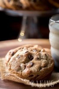 Thick and Chewy Chocolate Chip Cookies - The only recipe I use and the best one for chocolate chip cookies that I have found so far. | By Let the Baking Begin!