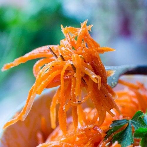 Spicy Korean Carrots