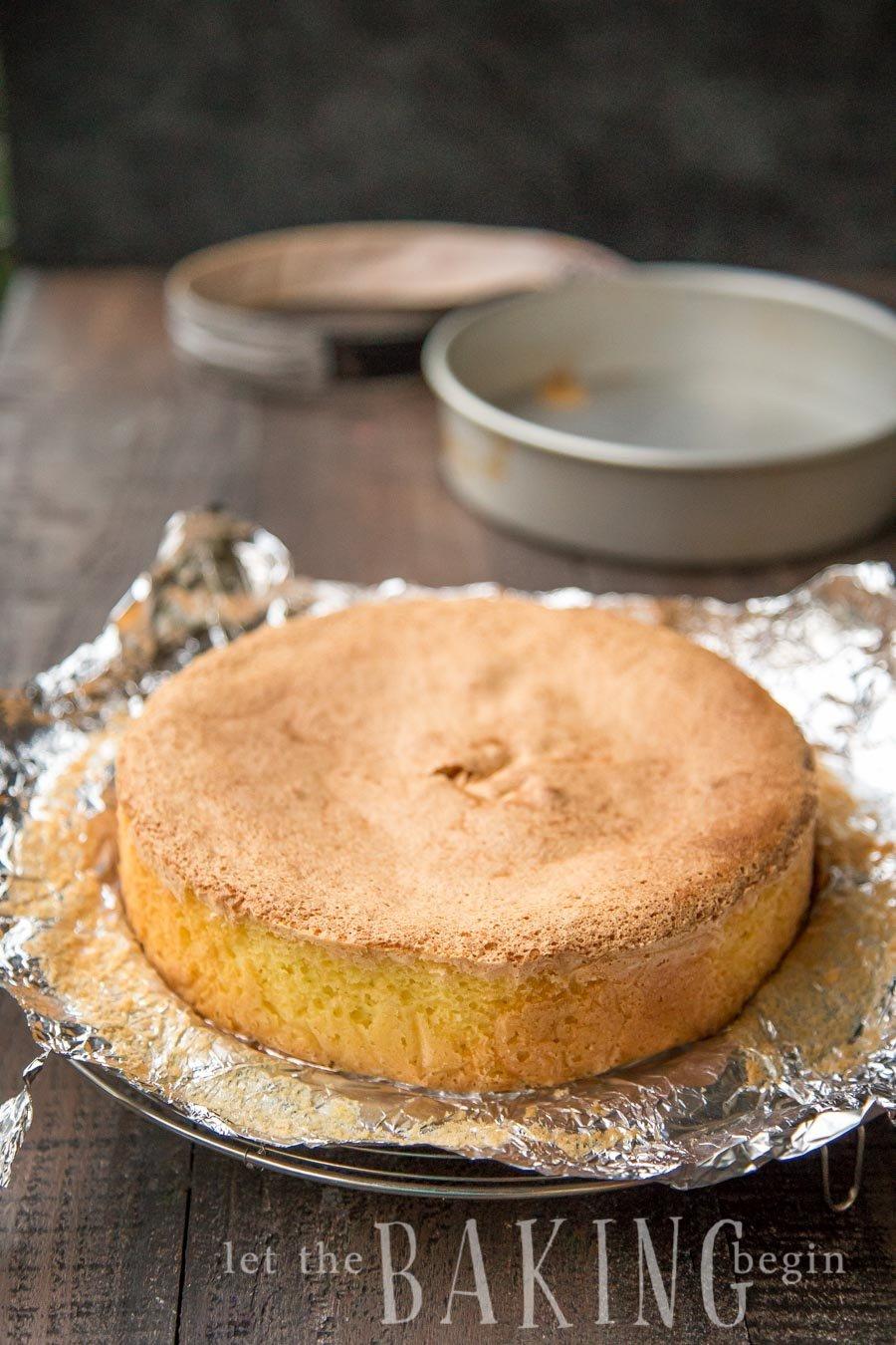 4 inch deep sponge cake recipe