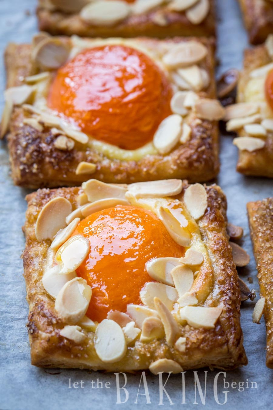 Fresh Apricot-Almond Tart