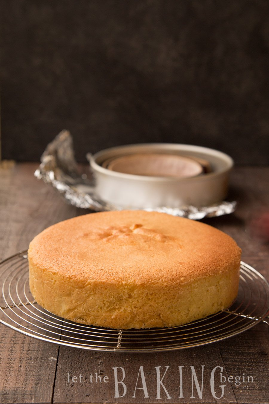 How To Make Very Soft Sponge Cake