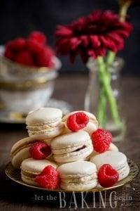 Italian Meringue Macaron Shells