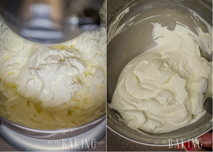Sour Cream Frosting - Fluffy and Creamy frosting with a tangy sour cream flavor will work with many combinations of cake, including yellow or chocolate sponge cake.