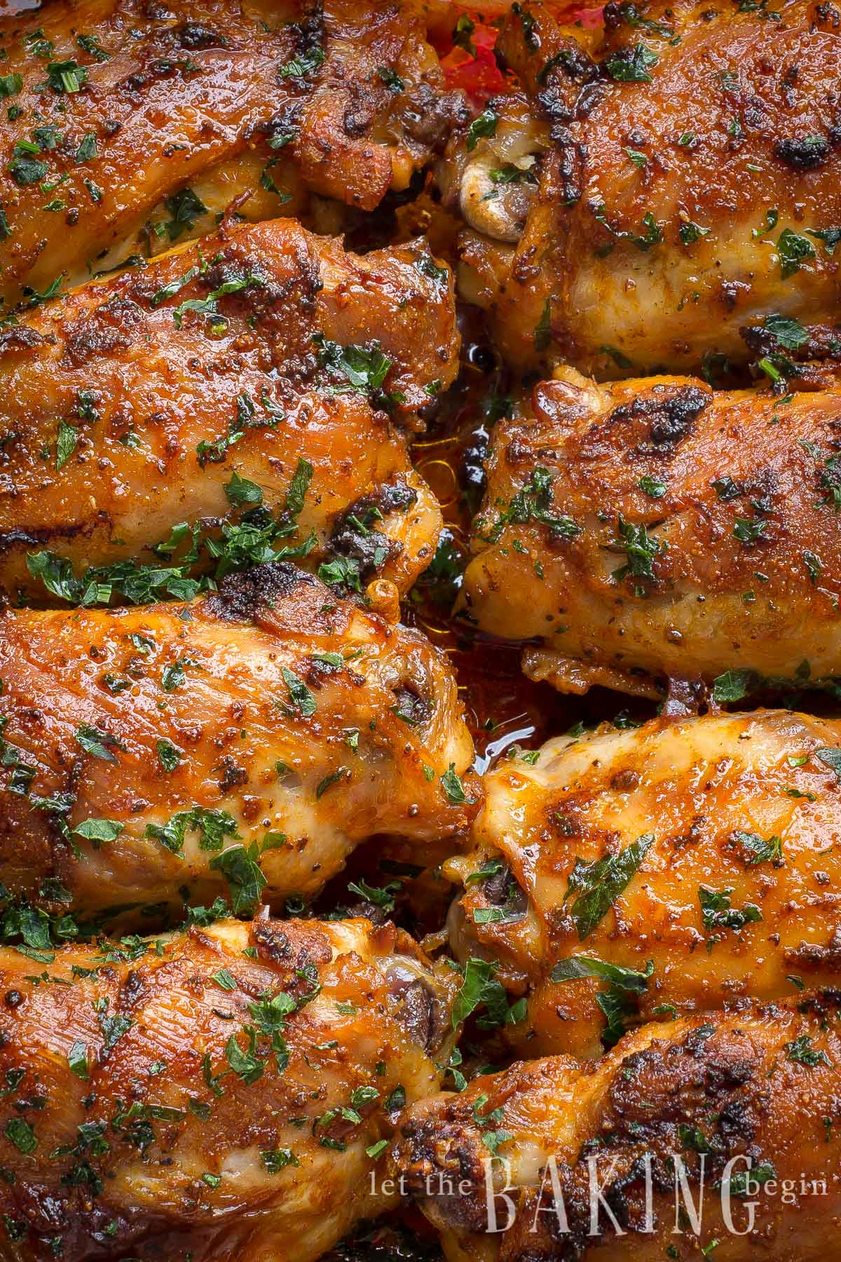 Paprika Baked Chicken Thighs Paprika Spice Blend Let
