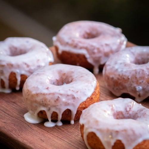 Easy Sugar Glazed Donuts