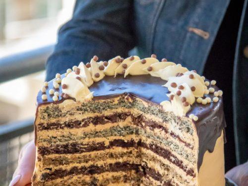 Stupendous Russian Royal Cake Korolevskiy Cake Let The Baking Begin Birthday Cards Printable Benkemecafe Filternl