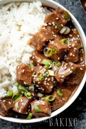 Quick and Easy Korean Beef-6
