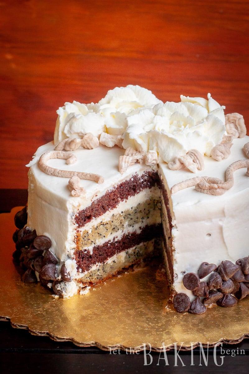 "Cake ""Black Prince"""