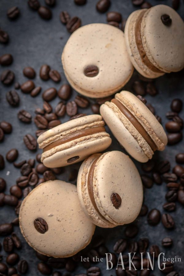 Coffee Macaron Recipe Let The Baking Begin
