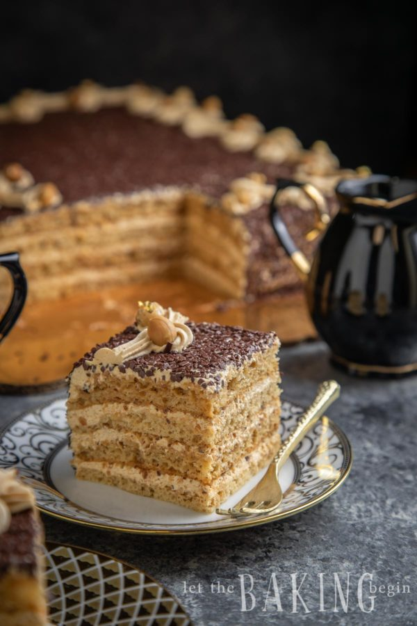 """Visual image of caking showing answer to """"what is dulce de leche?"""""""