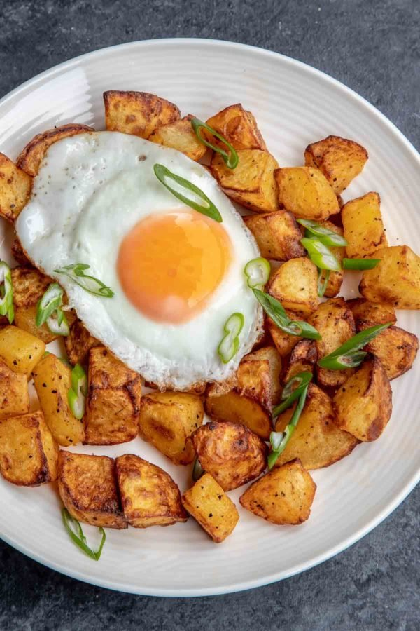 Breakfast Potatoes in the Air Fryer - this makes morning so easy and delicious!