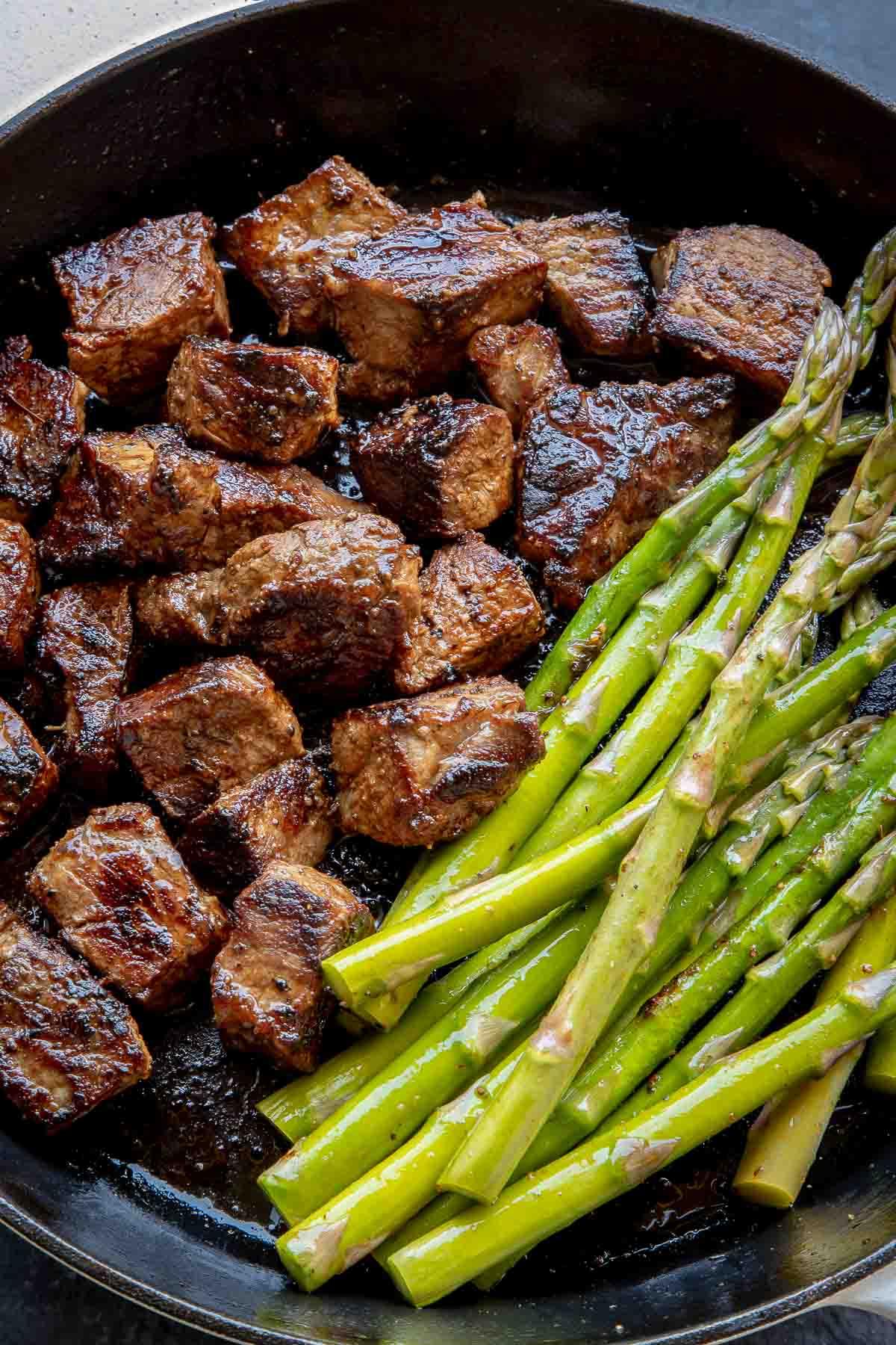 Steak Bites With Chimichurri Sauce Let The Baking Begin