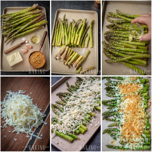 Baked Asparagus With Cheese Recipe Let The Baking Begin