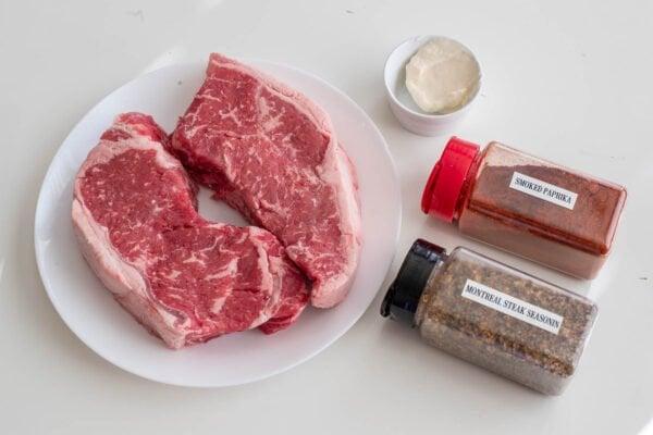 air fryer steak ingredients